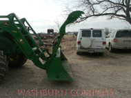 2 Stage Grapple w/ Removable Teeth for JD 600-700 series
