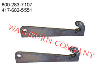 Quick Attach Brackets fit Volvo hitch #2805036