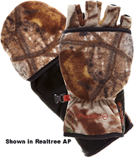 Bowhunter Convertible Gloves/ Mitten Realtree Xtra Camo Lg - 1 Pair