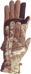 Hunter Insulated Fleece Gloves Realtree Xtra Camo Xlarge - 1 Pair