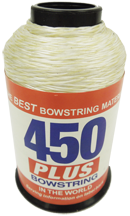 BCY 450+ Bowstring Material Natural - 4 Ounces