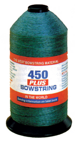 BCY 450+ Bowstring Material Green - 4 Ounces