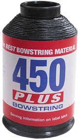 BCY 450+ Bowstring Material Black - 4 Ounces