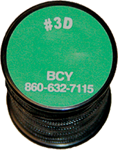 BCY #3D Serving .016 Black Bowstring Material