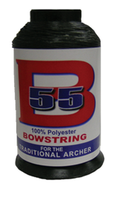 BCY B55 Bowstring Material Black Bowstring Material