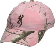 Browning Realtree All Purpose Pink Camo Hat w/Buckmark