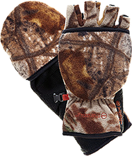 Bowhunter Convertible Gloves/ Mitten Realtree Xtra Yth Large - 1 Pair