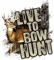 Mossy Oak Live to Bowhunt Series Whitetail Decal