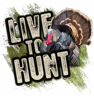 Mossy Oak Live to Hunt Series Turkey Decal