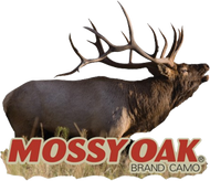 Mossy Oak Mini Elk Bugling Cutout Decal