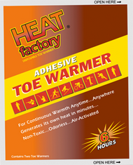 Heat Factory Hothands Toe Warmers (One Pair)