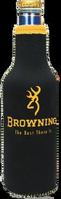 Browning 12oz Black & Yellow Bottle Cooler