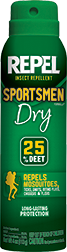 Sportsmen Dry Insect Repellent 4oz Aerosol