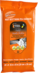 DDW Field Wash Cloths PDQ Scent Eliminator