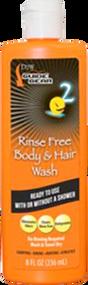 DDW Rinse Free Body & Hair Wash 8oz Scent Eliminator