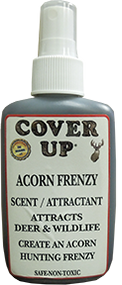 Cover Up Acorn Frenzy Spray 4oz Scent