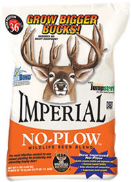 Whitetail Imperial No Plow Seed Blend 9#