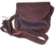 Rightnour Hand Laced Leather Possible Bag