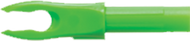 Victory Nock F Neon Green - 1 Dozen