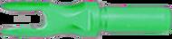 Victory Aluminum R 166 Satin Green Nock - 1 Dozen