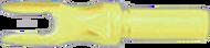 Victory Aluminum R .204 Satin Yellow Nock - 1 Dozen