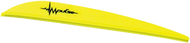 """Bohning Impulse 4"""" Vane Neon Yellow - 100 Pieces"""
