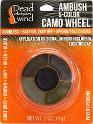 DDW Ambush 5-Color Camo Wheel w/Mirror