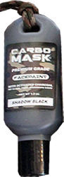 Carbomask 1.5oz Face Paint Shadow Black