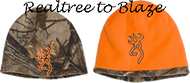 Browning All Season Reversible Beanie Realtree Xtra/Orange