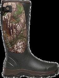 "La Crosse 4X Alpha 16"" Boots Realtree Xtra Size 8 - 1 Pair"