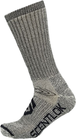Scentlok Thermal Boots Socks Grey Xlarge - 1 Pair