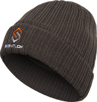 Scentlok Carbon Alloy Knit Cuff OSFM Hat Charcoal