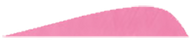 """5"""" LW Pink Gateway Feathers - 100 Pieces"""