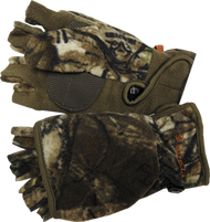 Womens Bowhunter Convertible Gloves Realtree Xtra Camo Small - 1 Pair