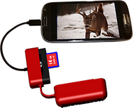 Whitetail'r Phone Reader for Samsung/ Motorola/LG/HTC