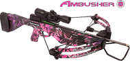 Parker 2016 Pink Ambusher Crossbow Package w/Multi Reticle Scope