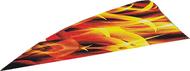 "4"" RW Gateway Printz Feather Inferno - 18 Pieces Feathers"