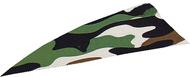 "4"" RW Gateway Printz Feather Green Camo - 18 Pieces Feathers"