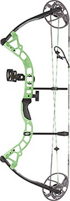 Diamond 2016 Prism 5-55# Neon Green Bow Package Left Hand Compound Bow