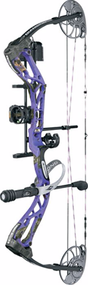 "Diamond 2016 Edge SB-1 Bow Package Purple Blaze Left Hand Compound Bow 15-30"" 7-70#"