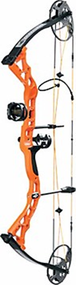 Diamond 2016 Prism 5-55# Bright Orange Bow Package Left Hand Compound Bow
