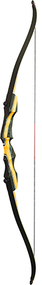 """PSE 2017 Nighthawk Takedown Recurve Bow Right Hand 62"""" 35#"""