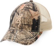 Browning Bozeman Brown Cap w/Mossy Oak Breakup Country Camo