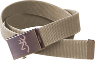 SPG Mens Browning Web Belt Tan
