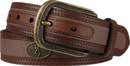 "SPG Mens Browning 32"" Buckmark Buckle Belt Leather Brown"