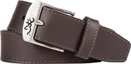 "SPG Mens Browning 32"" Basic Buckmark Belt Brown"