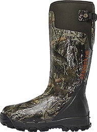 "La Crosse Alphaburly Pro 18"" 1000gr Boots Mossy Oak Country Camo Size 9 - 1 Pair Boots"