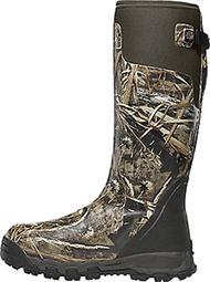 "La Crosse Alphaburly Pro 18"" 800gr Boots Realtree Max-5 Camo Size 10 - 1 Pair Boots"