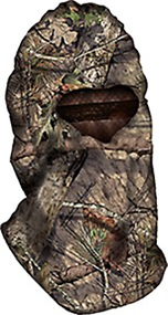 HECS Mossy Oak Country Camo Headnet Head Cover One Size Fits All