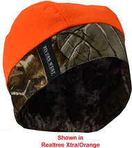 Rivers West Reversible Skull Cap Camo/Blaze Mossy Oak Country Camo OSFM